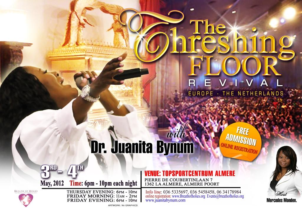 Juanita Bynum Flyer